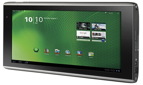 Acer Iconia A200 Tablet PC to be launched in CES 2012