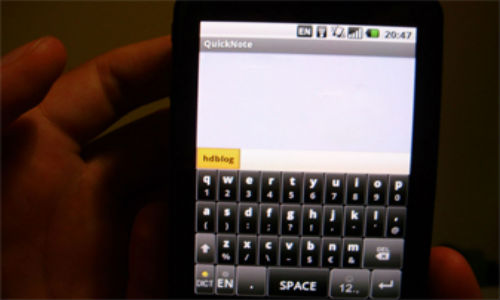 Android: TouchPal keyboard