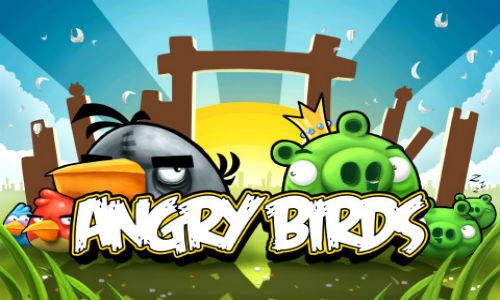 Angry Birds, the most downloaded app