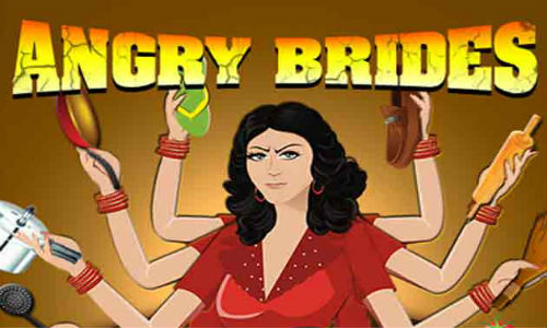 Angry Brides: a game against the dowry demands