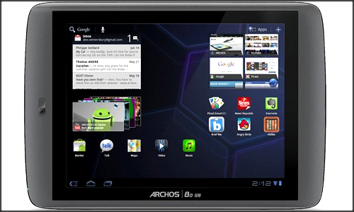 Archos confirms getting ICS update for all G9 tablets
