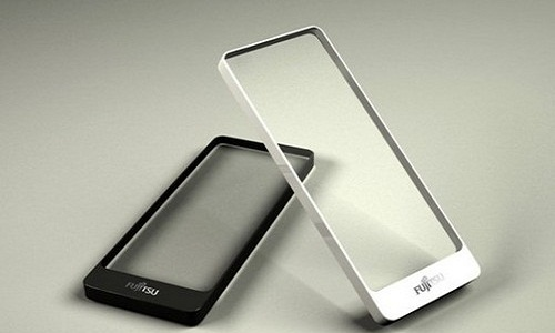 Brick concept phone revolution in transparent design