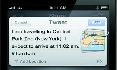 CES 2012: TomTom iOS app involves social networks