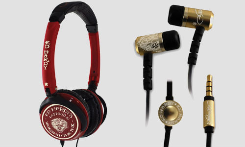 Ed Hardy launching tattoo inspired headphones