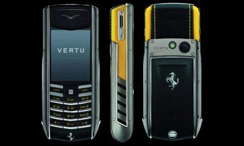 Vertu Constellation Quest Ferrari luxury mobile phone