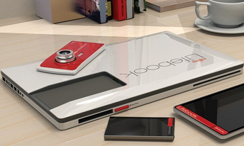 Lifebook - A hybrid model conceptualized by Fujitsu