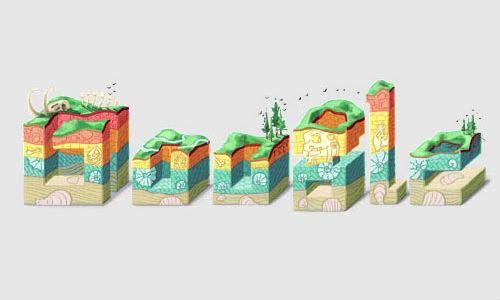 Google doodles 374th birthday of Nicolas Steno