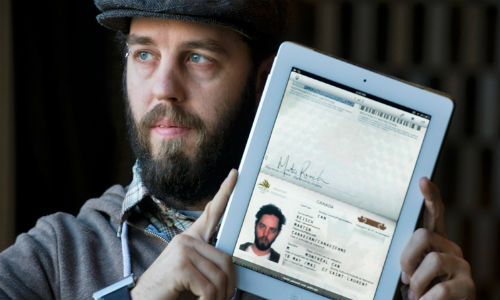 iPad has helped a Canadian to step into US