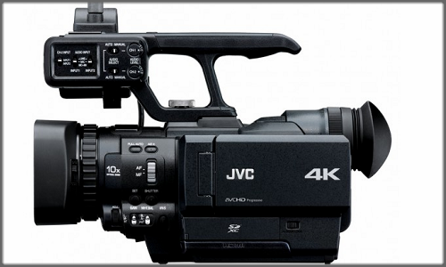 JVC brings world's first 4k camcorder: JVC GY-HMQ10