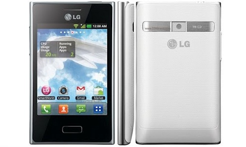 LG Optimus L3 E400, a 3G Android stylish phone