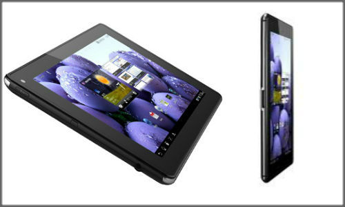 LG's Optimus Pad LTE Android OS tablet with 4G LTE connectivity, powerful dual core processor