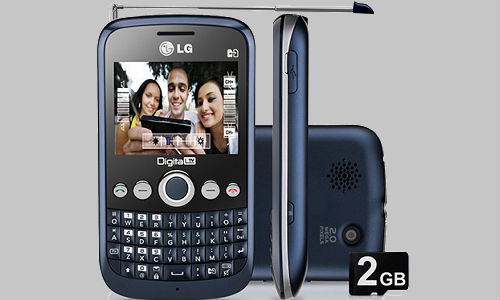 LG X350 an ordinary mobile phone with a classy look