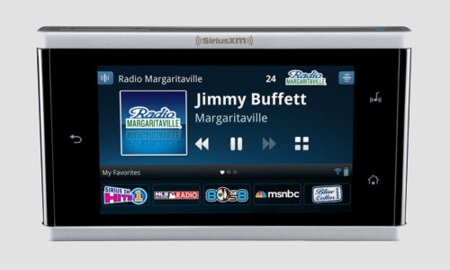Sirius XM launches portable radio model