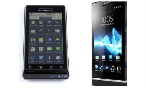 Two Latest Android Smartphones :Motorola Droid 4: Sony Xperia S