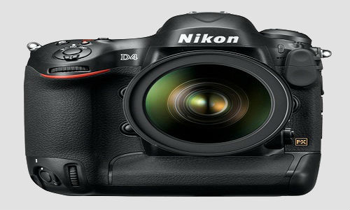 Nikon brings in D4, a professional DSLR camera