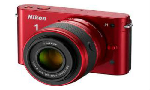 Nikon's latest V1 and J1-two mirror less Camera