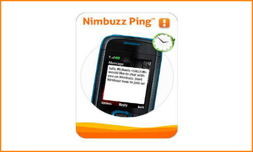 Nimbuzz Ping app for feature phones