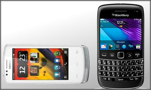 Nokia 700 and Blackberry 9790 both amazing smart phones different platforms