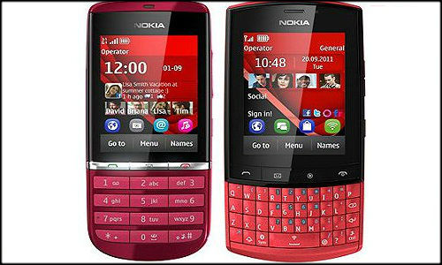Nokia announces Asha 300 and Asha 303 feature phone with keypad, touchscreen