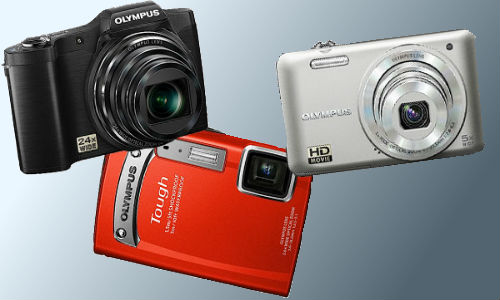Olympus unveils a procession of cameras and lens