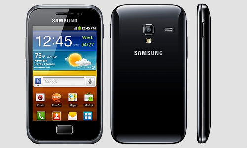 Samsung Galaxy Ace Plus, faster and more user friendly Android phone