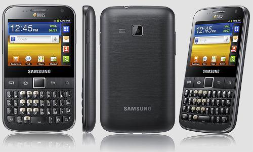 Motorola Droid 4 and Samsung Galaxy Pro Duos Smartphones