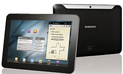 New 2 GHz dual core Galaxy Tab in MWC 2012