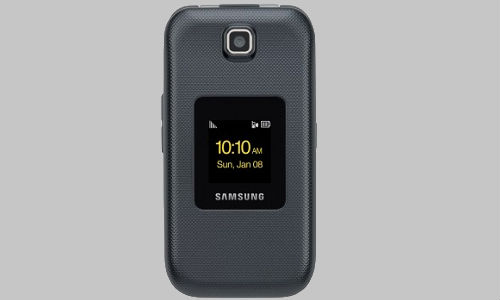 Latest clam shell model smartphone; The Samsung M370