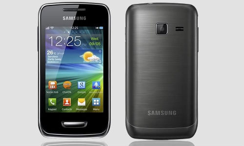 Samsung Bada Wave Y smartphone, the youngsters' choice