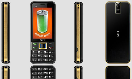 SICT introduces IV198 mobile phone with 80 day back up capacity