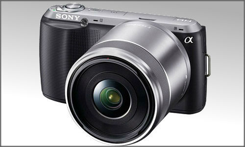 Latest Sony NEX-C3, a high end autofocus Digital camera