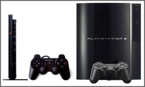 Sony's sixth generation video gaming console PS2 and PS3!