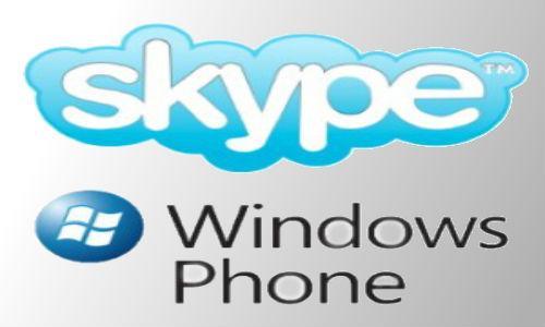 Windows Phone gets Skype app soon