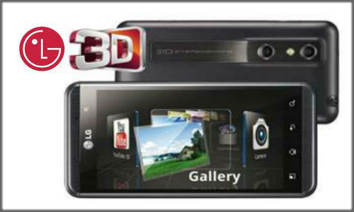 LG's New 3D Max Smartphone in the making