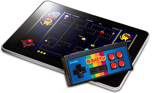 Thinkgeek's 8-Bitty a gamepad for iOS devices soon