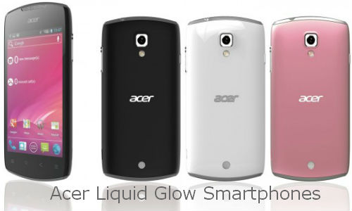Acer launches new Android phone: Liquid Glow