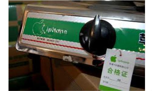 China makes Apple gas stoves