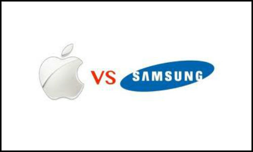 Apple beats Samsung in the battle of smartphones