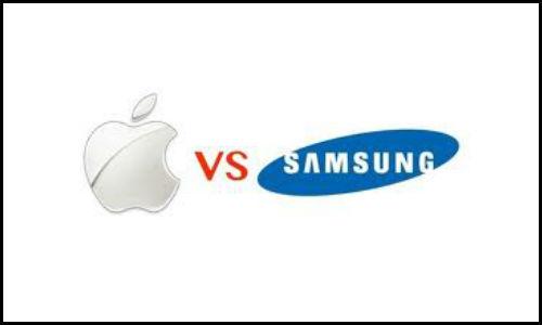 Apple beats Samsung in the battle of smartphones