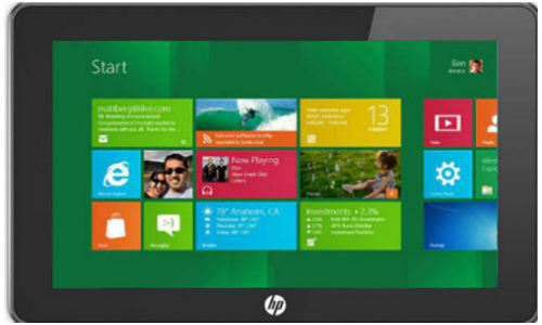 First HP Windows 8 tablet to be released soon