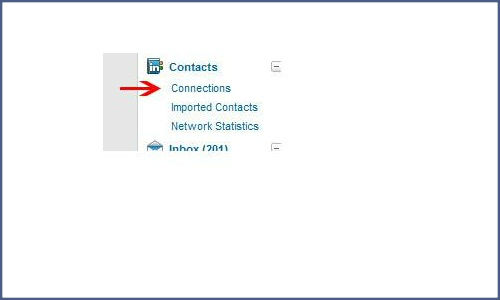 How to add the contacts from Linkedin to Twitter?
