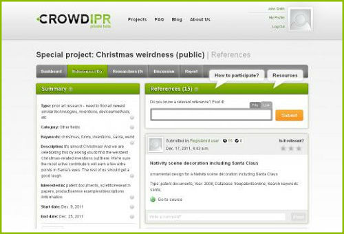 How to search for IP related information with CrowdIPR?