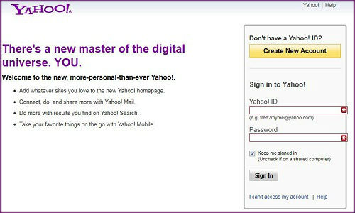How to track Gmail and Yahoo account activity?