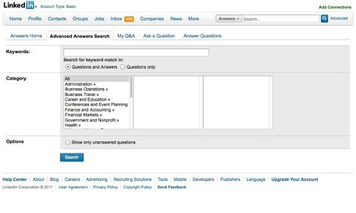 How to use LinkedIn Answers feature to increase traffic?