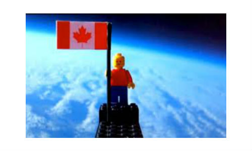 Technology puts Lego man in space