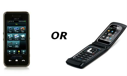 How to differentiate a smartphone from a mobile phone