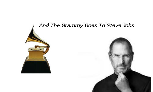 Steve Jobs honoured with Grammy posthumously