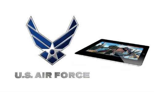 Apple iPad 2 attracts US Air Force