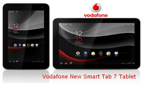 Vodafone New Smart Tab 7 Tablet with an advanced Design