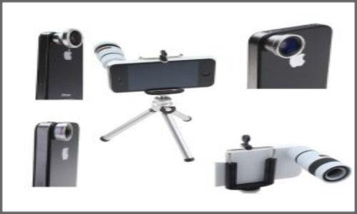 Vtec's New camera lens kit for iPhone models